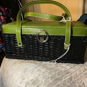 Kate Spade basket like purse absolutely UNIQUE!
